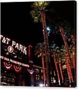 Texas Rangers V San Francisco Giants Canvas Print