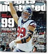 Texas Three-step 99 Problems for 31 Teams Sports Illustrated Cover Canvas Print