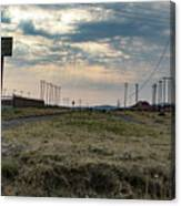 Thaba Nchu Railway Canvas Print