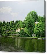 Thames At Reading Canvas Print