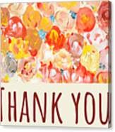 Thank You #2 Canvas Print