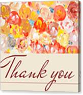 Thank You #3 Canvas Print