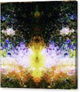 That Time We Woke Up Laughing In Claude Monet's Garden Canvas Print