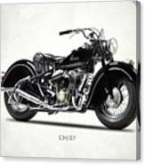 The 1947 Chief Canvas Print