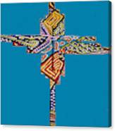 The Abstract Cross Canvas Print