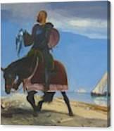 The Adventurer 1882 Canvas Print