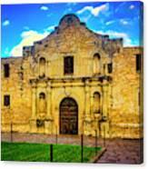 The Alamo Mission Canvas Print