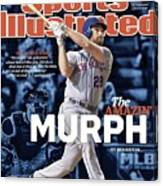The Amazin Murph 2015 World Series Preview Issue Sports Illustrated Cover Canvas Print