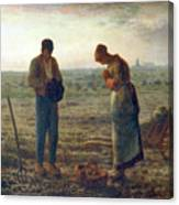 The Angelus, 1857-1859. Artist Jean Canvas Print