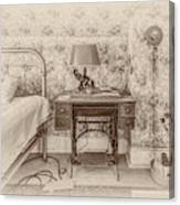 The Antique Sewing Machine Canvas Print