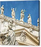 The Apostle Peter Vatican City Canvas Print