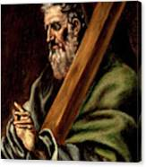 The Apostle St  Andrew  Canvas Print