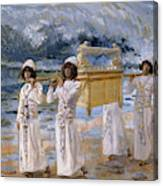 The Ark Passes Over The Jordan, 1902 Canvas Print