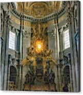 The Aspe Of St. Peter's Canvas Print