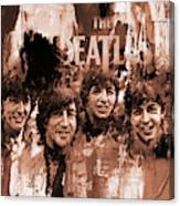 The Beatles Art  Canvas Print