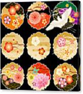 The Beautiful Pattern Of Japan Canvas Print