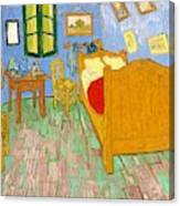The Bedroom At Arles - Digital Remastered Edition Canvas Print