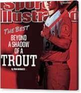 The Best Beyond A Shadow Of A Trout Sports Illustrated Cover Canvas Print