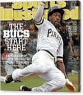 The Bucs Start Here A New Generation Of Pittsburgh Fans Sports Illustrated Cover Canvas Print