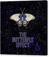 The Butterfly Effect II Canvas Print
