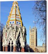 The Buxton Memorial Fountain London Canvas Print