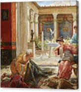The Carpet Sellers Canvas Print