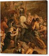 The Carrying Of The Cross, 1634 - 1637 Canvas Print
