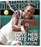 The Championships - Wimbledon 2010 Day Twelve Sports Illustrated Cover Canvas Print
