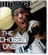 The Chosen One St. Vincent-st. Mary High LeBron James Sports Illustrated Cover Canvas Print