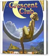 The Crescent Club, Siesta Key Canvas Print