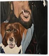 The Dark Horse Canvas Print