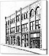 The Denver Block Helena Montana Canvas Print