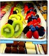 The Dessert Trays Canvas Print