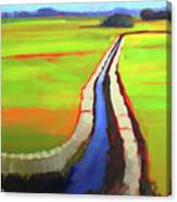 The Ditch Canvas Print