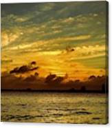 The Eve Of Hurricane Michael IIi Canvas Print