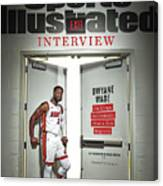 The Exit Interview Miami Heat Dwyane Wade On Rings Sports Illustrated Cover Canvas Print