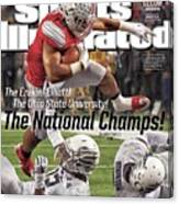 The Ezekiel Elliott The Ohio State University The National Sports Illustrated Cover Canvas Print