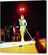 The Faces Perform On Stage Canvas Print