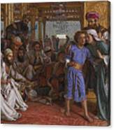 The Finding Of The Savior At The Temple Canvas Print