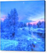 The First Snow 2 Canvas Print