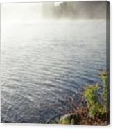 The Fog Rolls  Canvas Print