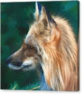 The Fox 235 - Painting Canvas Print