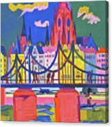 The Frankfurt Cathedral - Digital Remastered Edition Canvas Print