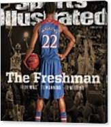 The Freshman From Wilt...to Manning...to Wiggins Sports Illustrated Cover Canvas Print