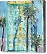 The Georgian Hotel, Santa Monica Canvas Print