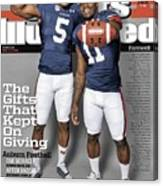 The Gifts That Kept On Giving Auburn Football Sports Illustrated Cover Canvas Print