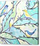 The Glass Birds Canvas Print