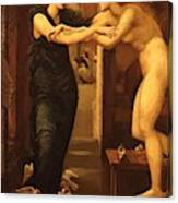 The Godhead Fires Pygmalion 1870 Canvas Print