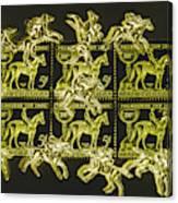 The Golden Race Canvas Print