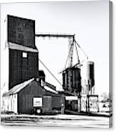 The Grain Elevator Canvas Print
